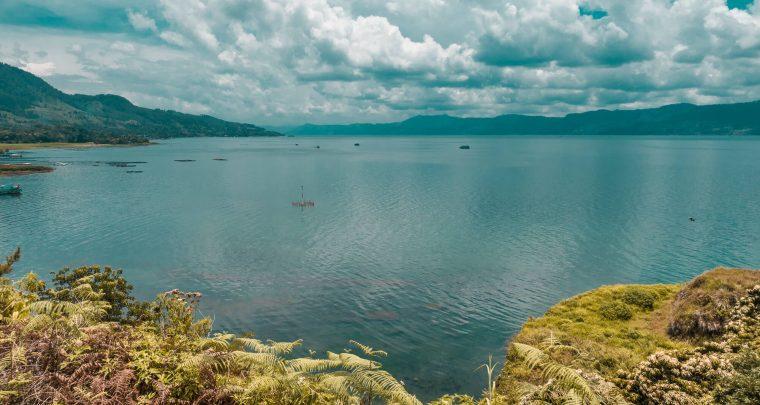 De rust bij Lake Toba