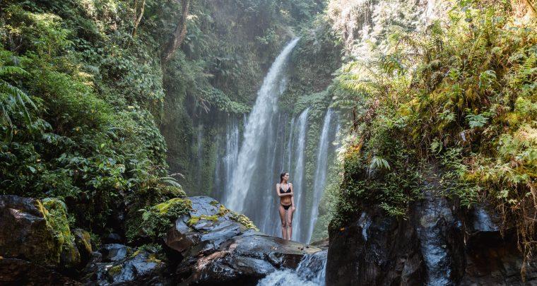 De mooiste watervallen in Lombok