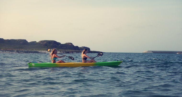 Boa Vista: Met de kajak naar Ilhéu de Sal Rei (island)