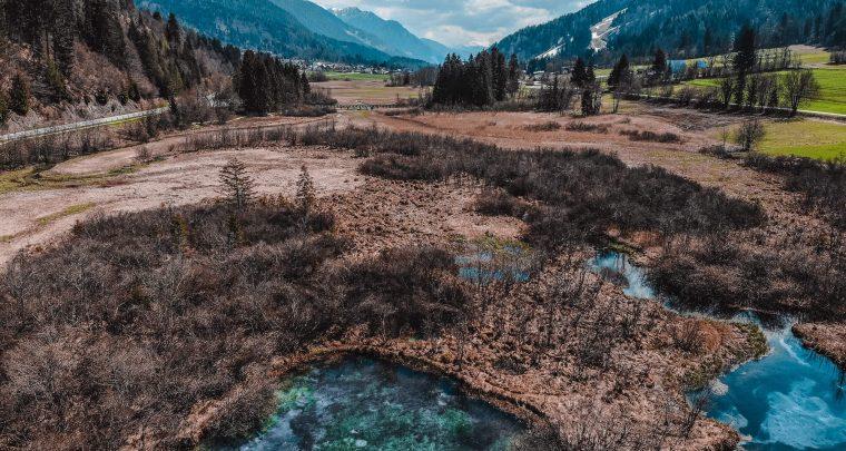 Op weg naar het sublieme Zelenci natuurreservaat